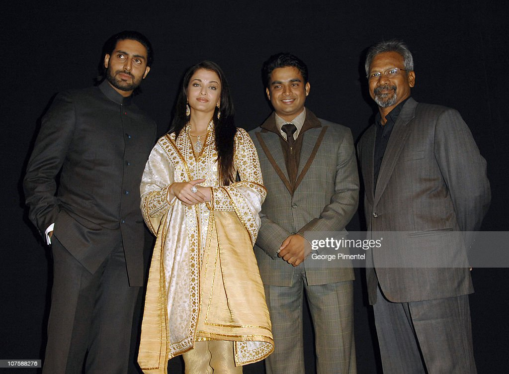 <a gi-track='captionPersonalityLinkClicked' href=/galleries/search?phrase=Abhishek+Bachchan&family=editorial&specificpeople=549431 ng-click='$event.stopPropagation()'>Abhishek Bachchan</a>, <a gi-track='captionPersonalityLinkClicked' href=/galleries/search?phrase=Aishwarya+Rai&family=editorial&specificpeople=202237 ng-click='$event.stopPropagation()'>Aishwarya Rai</a>, R. Madhavan (Supporting Actor) and Mani Ratnam