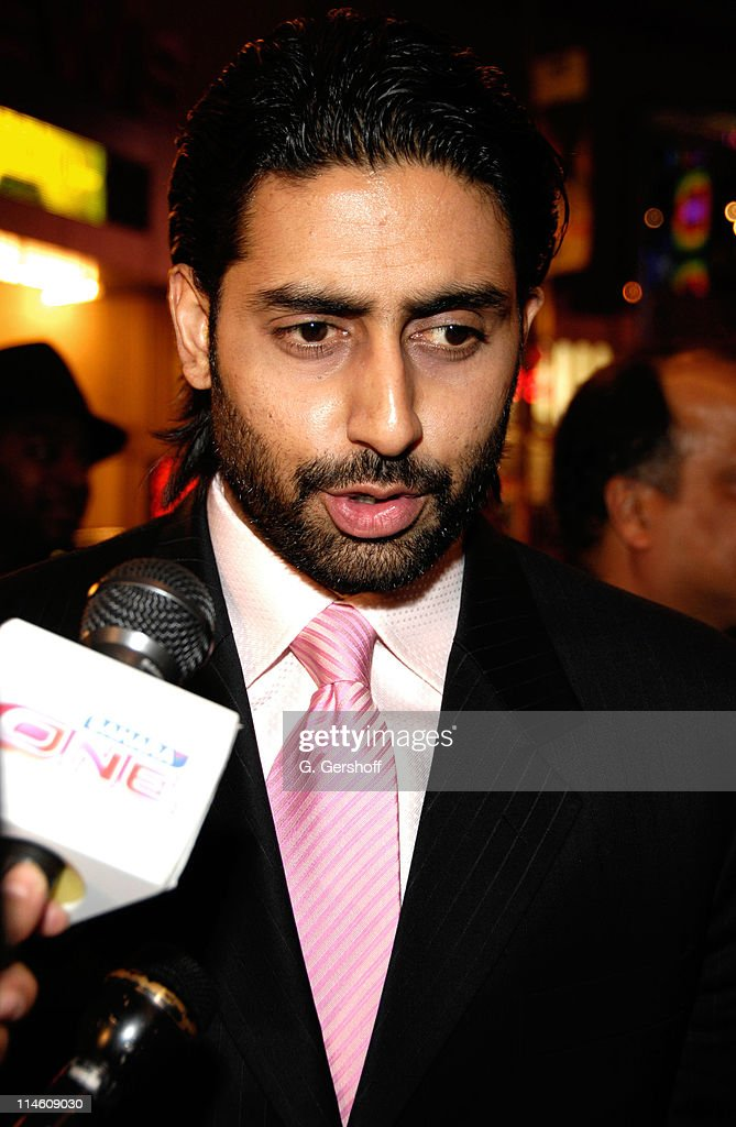 <a gi-track='captionPersonalityLinkClicked' href=/galleries/search?phrase=Abhishek+Bachchan&family=editorial&specificpeople=549431 ng-click='$event.stopPropagation()'>Abhishek Bachchan</a> during 'Guru' New York City Premiere - Red Carpet at AMC Empire Theater in New York City, New York, United States.