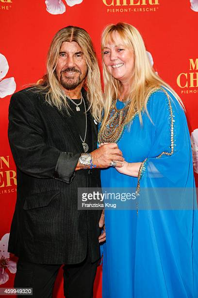 Abi Ofarim and his wife Esther Ofarim attend the Mon Cheri Barbara Tag 2014 at Haus der Kunst on December 4 2014 in Munich Germany