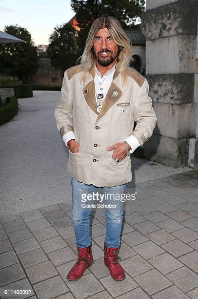 Abi Ofarim during the 'Bergonzoli in Bavaria' exhibition opening at Bayerisches Nationalmuseum on September 29 2016 in Munich Germany