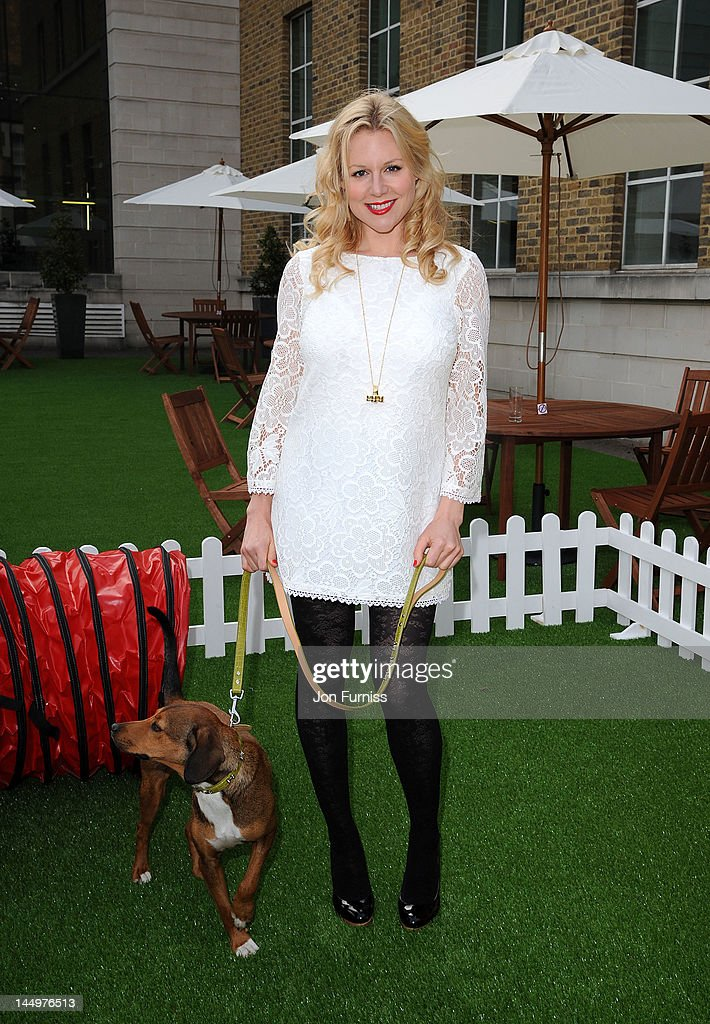 Abi Titmuss attends the 21st Dog Trust Awards at Honourable Artillery Company on May 21, 2012 in London, England.