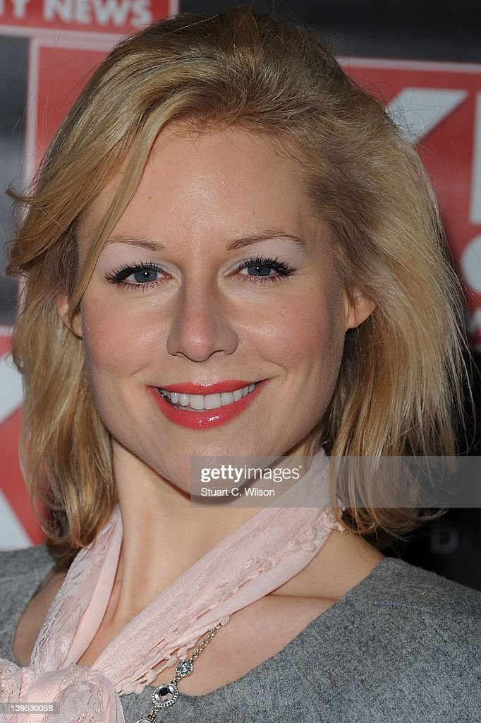 Abi Titmuss attends the Hybrid and OK! Magazine London Fashion Week Party at Jewel Bar on February 22, 2012 in London, England.