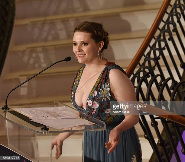 Abigail Breslin at the Changemaker Honoree Gala at the 2016 Greenwich International Film Festival Day 2 at Richards on June 10 2016 in Greenwich...