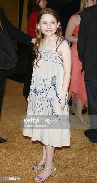 Abigail Breslin during 'Little Miss Sunshine' New York Premiere Outside Arrivals at AMC Loews Lincoln Square in New York New York United States