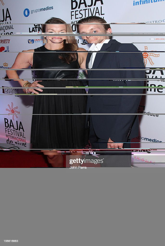 Abigail Carpenter and James Hebert arrive to the Closing Night Gala for the Baja International Film Festival at Los Cabos Convention Center on November 17, 2012 in Cabo San Lucas, Mexico.