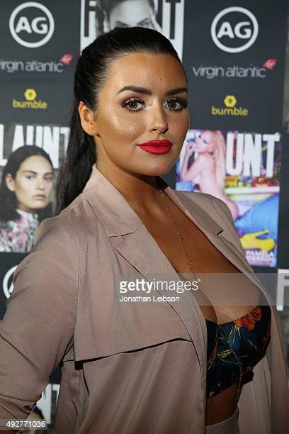 Abigail Ratchford attends the Flaunt Magazine And AG Celebrate The LA launch Of The CALIFUK Issue At The Hollywood Roosevelt at Hollywood Roosevelt...