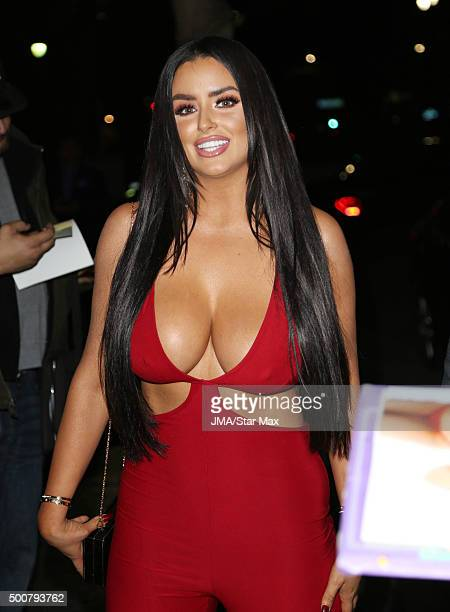 Abigail Ratchford is seen on December 9 2015 in Los Angeles California