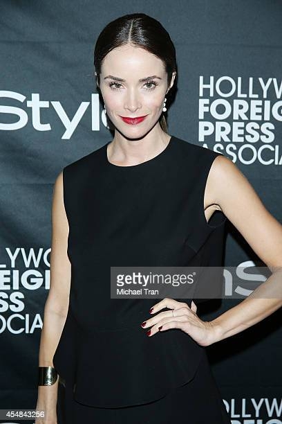 Abigail Spencer arrives at the HFPA InStyle's 2014 TIFF Celebration held during the 2014 Toronto International Film Festival on September 6 2014 in...