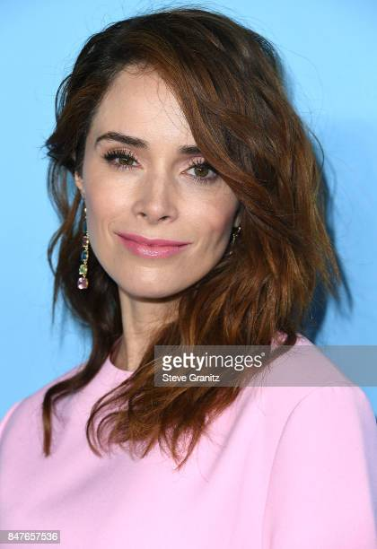 Abigail Spencer arrives at the Variety And Women In Film's 2017 PreEmmy Celebration at Gracias Madre on September 15 2017 in West Hollywood California