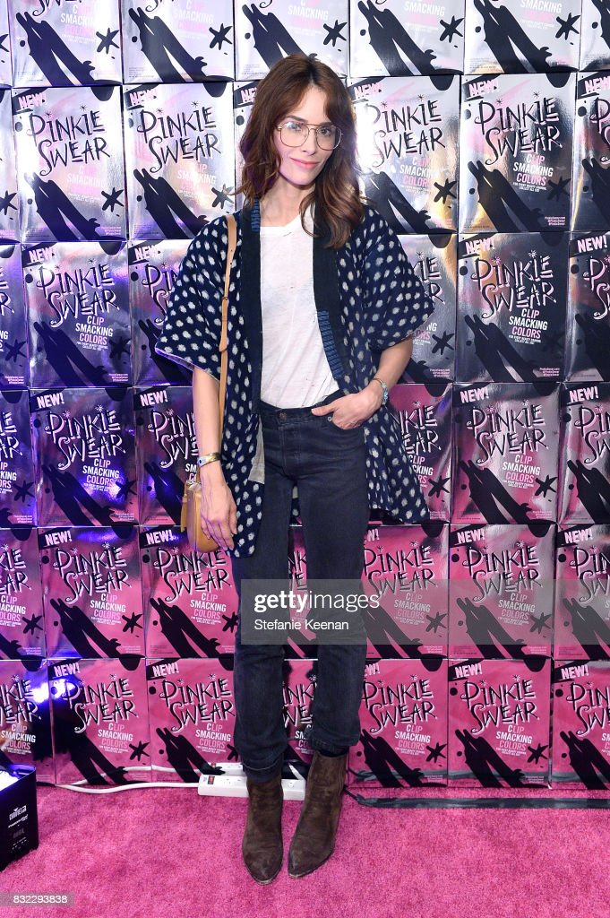 Abigail Spencer at 'Pinkie Swear' Makeup Collective Celebrates Launch With Special Exhibition 'Drawn In: Beauty Illustration in the Digital World' Curated by Sarah Brown at Wilding Cran Gallery on August 15, 2017 in Los Angeles, California.