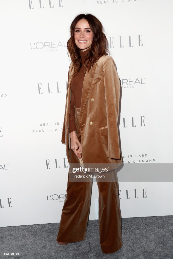Abigail Spencer attends ELLE's 24th Annual Women in Hollywood Celebration at Four Seasons Hotel Los Angeles at Beverly Hills on October 16, 2017 in Los Angeles, California.