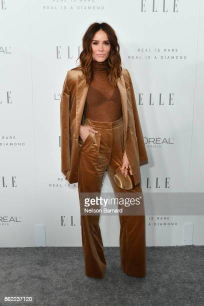 Abigail Spencer attends ELLE's 24th Annual Women in Hollywood Celebration presented by L'Oreal Paris Real Is Rare Real Is A Diamond and CALVIN KLEIN...