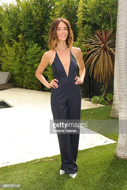 Abigail Spencer attends No Kid Hungry Breakfast Party in part with Kellogg's Citi and Tyson on August 25 2015 in Beverly Hills California