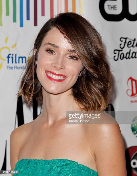 Abigail Spencer attends the 11th annual LA Femme International Film Festival Awards Gala at The Los Angeles Theatre Center on October 18 2015 in Los...