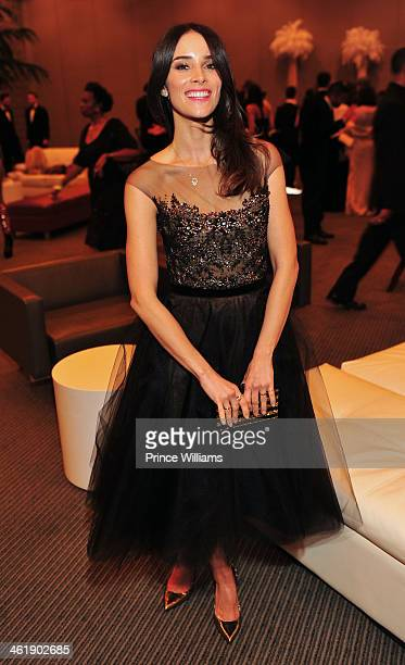 Abigail Spencer attends the 2nd annual Georgia Entertainment gala at Georgia World Congress Center on January 11 2014 in Atlanta Georgia