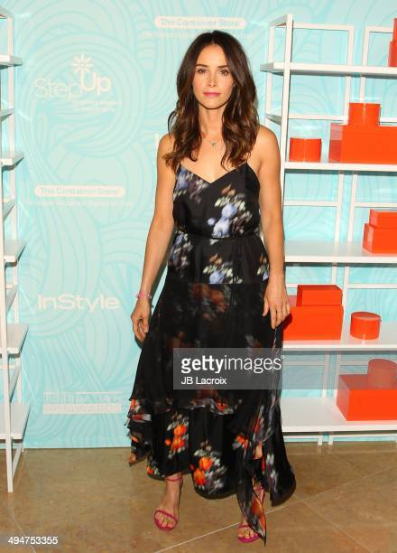 Abigail Spencer attends the Step Up 11th Annual Inspiration Awards at The Beverly Hilton Hotel on May 30 2014 in Beverly Hills California