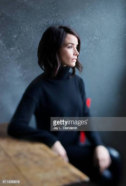 Abigail Spencer from the series 'Rectify' poses for a portrait at the 2016 Sundance Film Festival on January 24 2016 in Park City Utah CREDIT MUST...