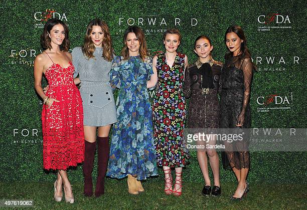 Abigail Spencer Katharine McPhee Elyse Walker Gillian Jacobs Rowan Blanchard and Jamie Chung attend FORWARD By Elyse Walker and CFDA 2015 Rising...