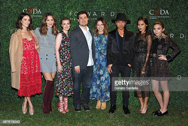 Abigail Spencer Katharine McPhee Gillian Jacobs Mike Karanikolas Elyse Walker Michael Mente Jamie Chung and Rowan Blanchard attend FORWARD By Elyse...