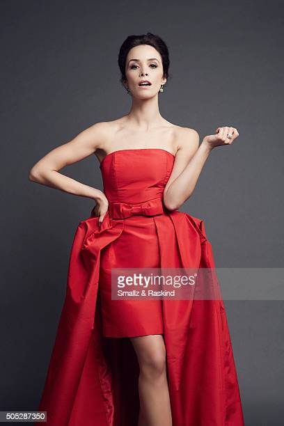 Abigail Spencer poses for a portrait at the 2016 People's Choice Awards at the Microsoft Theater on January 6 2016 in Los Angeles California