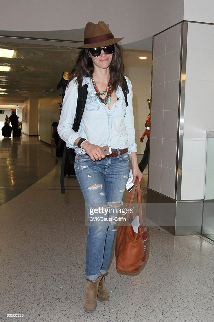 Abigail Spencer seen at LAX on March 16 2015 in Los Angeles California