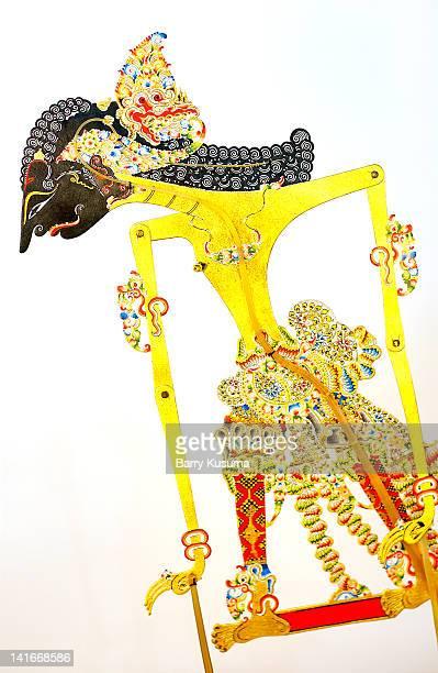 Abimanyu Wayang Kulit, javanese Shadow puppet.