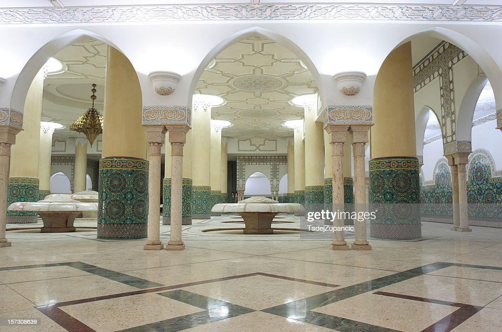 Ablution room : Stock Photo