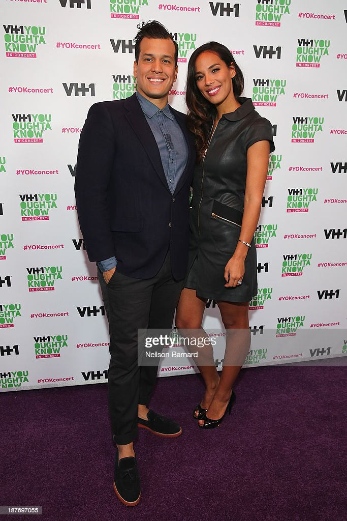 Abner Ramirez and Amanda Sudano of Johnnyswim attend VH1 'You Oughta Know In Concert' 2013 on November 11, 2013 at Roseland Ballroom in New York City.