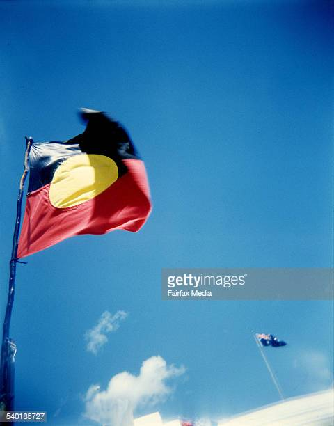 Aboriginal and australian flag