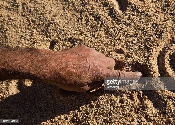 Aboriginal hand