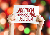 Abortion is a Personal Decision placard