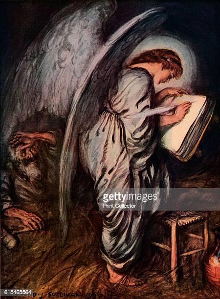 I Pray Thee Then Write Me As One Who Loves His Fellow Men' From Bibby's Annual 1917 [J Bibby Sons Liverpool 1917] Artist Edmund Joseph Sullivan