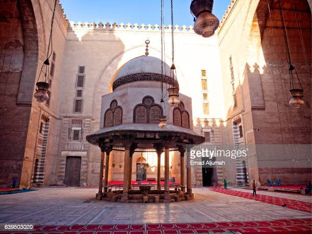 Aboulion Fountain at Sultan Hassan Mosque and Madrasa, Cairo, Al Qahirah, Egypt