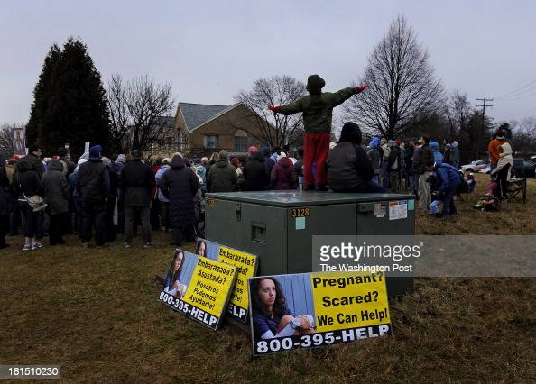 About 150 people attended a memorial prayer vigil and a press conference was held this morning by various antiabortion groups in Germantown MD after...