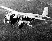 About 1930 Voyages by planes Bréguet 393 Collection Air France