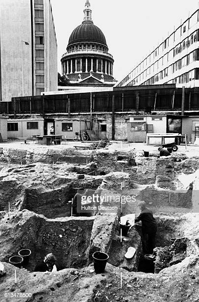 About 248 skeletons quite a few showing signs of arthritis have been so far excavated from the old Post Office site near St Pauls Most of the...