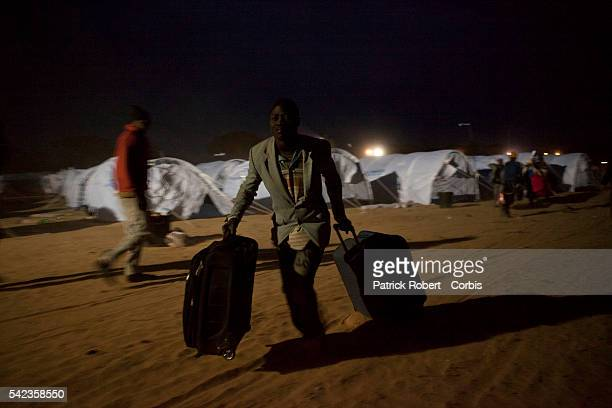 About 70000 refugees had entered Tunisia since the uprising began in Libya and only an estimated 20 percent had been repatriated the UNHCR teamleader...