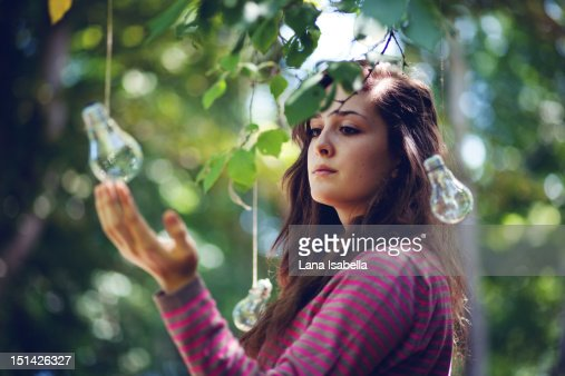 About searching for light : Stock Photo