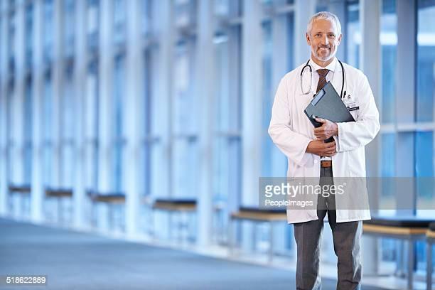 Um einen Patienten zu sehen