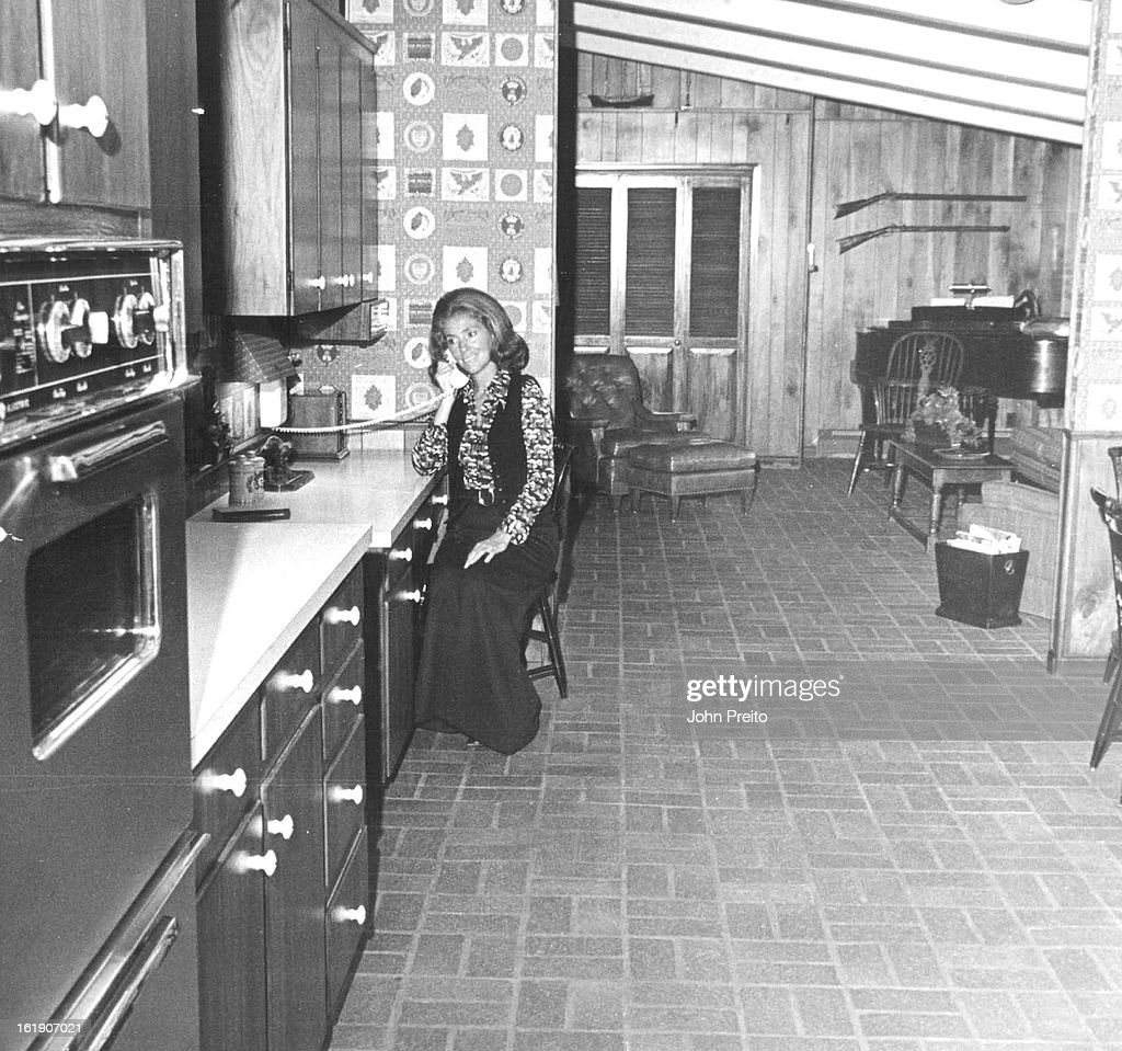 SEP 13 1972 SEP 18 1972 SEP 24 1972 Above Busy telephone answered by Mrs Richard Chamberlin is situated midway in spacious continuum of kitchen and...