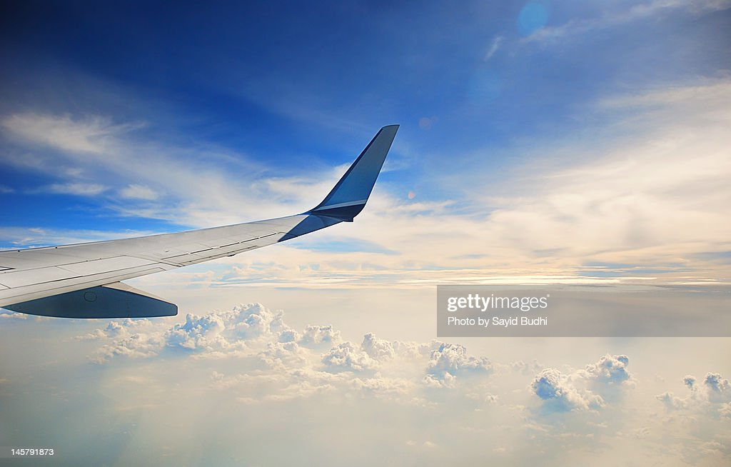 Above clouds : Stock Photo