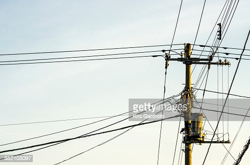 Above ground electric power distribution
