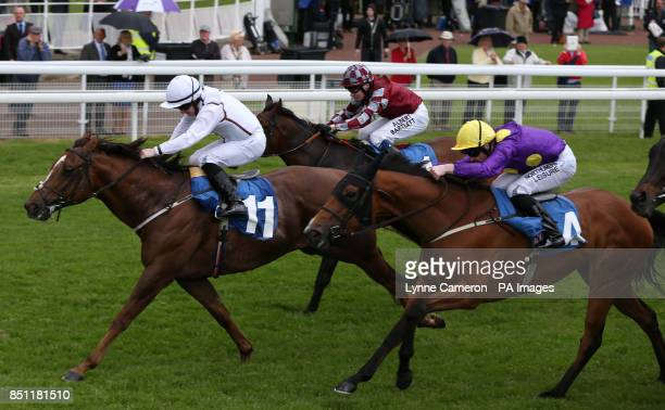Above Standard ridden by Graham Gibbons wins The Bell Trailers 25th Anniversary Stakes at York Racecourse York