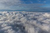 Above the clouds, North Rhine-Westphalia, Germany