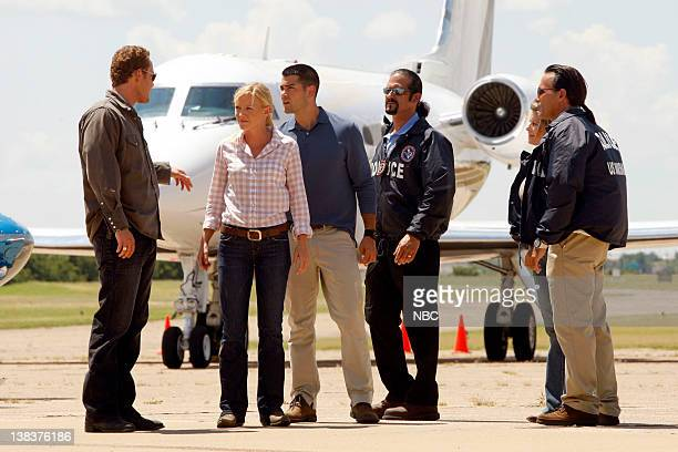 CHASE 'Above the Law' Episode 104 Pictured Cole Hauser as Jimmy Godfrey Kelli Giddish as Annie Frost Jesse Metcalfe as Luke Watson