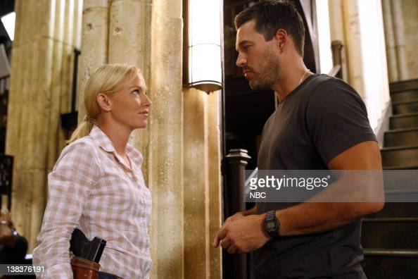 CHASE 'Above the Law' Episode 104 Pictured Kelli Giddish as Annis Frost Eddie Cirbian as Ben Crowley
