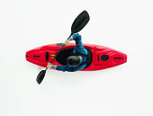 Above view of man kayakinghttp://www.twodozendesign.info/i/1.png