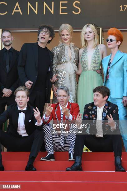 Abraham Lewis director John Cameron Mitchell Alex Sharp writer Neil Gaiman actresses Nicole Kidman Elle Fanning and costume designer Sandy Powell...