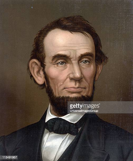 Abraham Lincoln 16th President of the United States of America 18611865 Assassinated at Ford's Theatre Washington by actor and Confederate spy John...