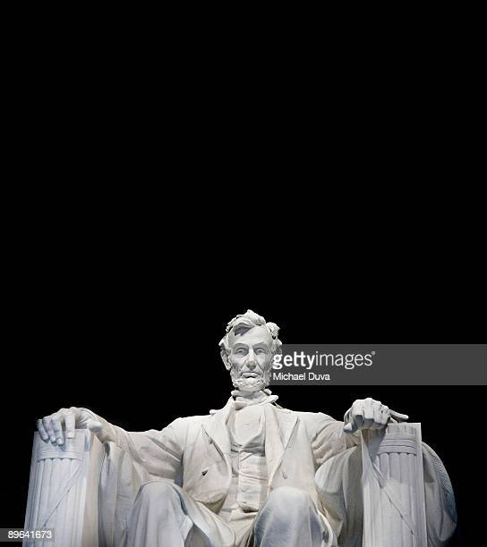 Abraham Lincoln Memorial close up view
